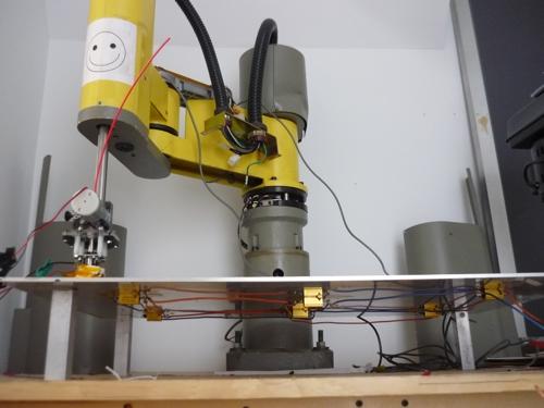 scara robot 3d abs printer industrie roboter wird zum 3d drucker. Black Bedroom Furniture Sets. Home Design Ideas