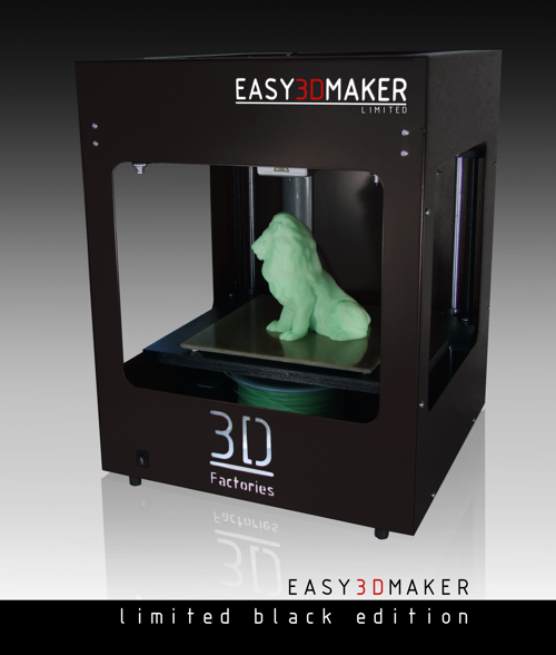 Easy3DMaker-3D-Drucker-Black edition