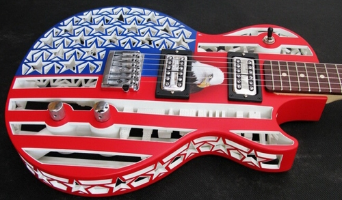 Olaf-Diegel-Americana-3D-Printed Guitar
