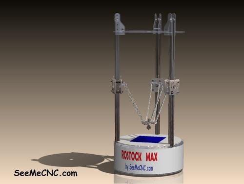 rostock max delta 3d drucker. Black Bedroom Furniture Sets. Home Design Ideas