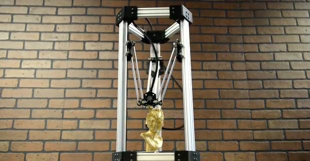 deltamaker neuer delta robot 3d drucker update. Black Bedroom Furniture Sets. Home Design Ideas