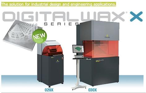 DWS-Digitalwax-X Serie 3D Drucker
