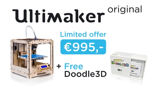 Ultimaker Doodle3D Bundle