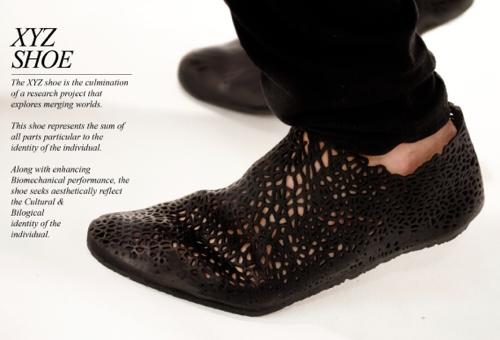 XYZ Shoe 3D Drucker