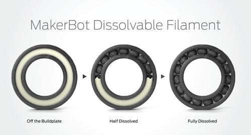 MakerBot® Dissolvable Filament