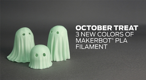 MakerBot® Glow-in-the-Dark PLA Filament