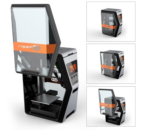 Rapide 3D - Rapide One 3D Drucker Indiegogo