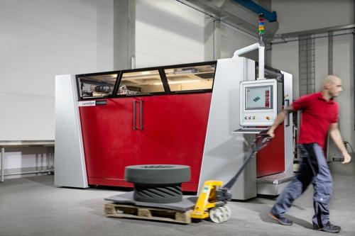 3D-Drucker VX2000 für großformatigen Formen wie ein Francis-Laufrad