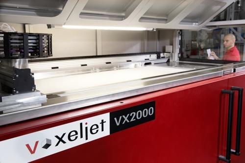 Baufeld der VX2000
