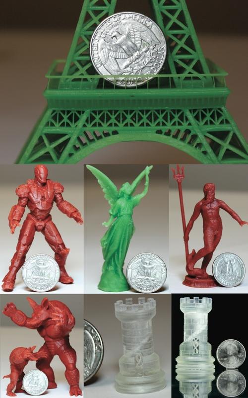 Pegasus Touch Laser SLA 3D Printer Testdruck