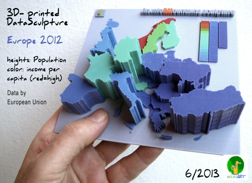3D-Druck European Population and income per capita 2012