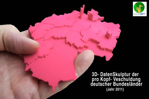 3D-Druck Verschuldung Bundesländer
