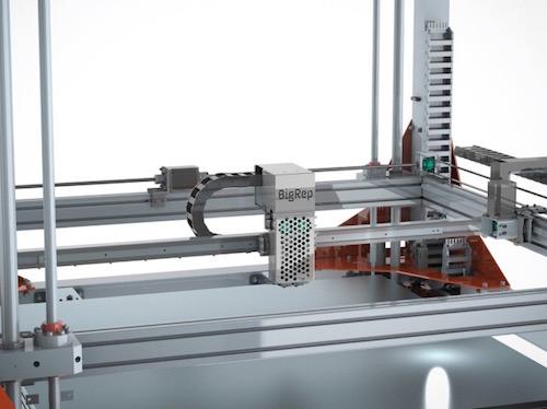BigRep ONE 3d drucker - BigRep ONE 3D Printer - Großformat Drucker aus Berlin - Update: BigRep ONE.2 auf der Euromold