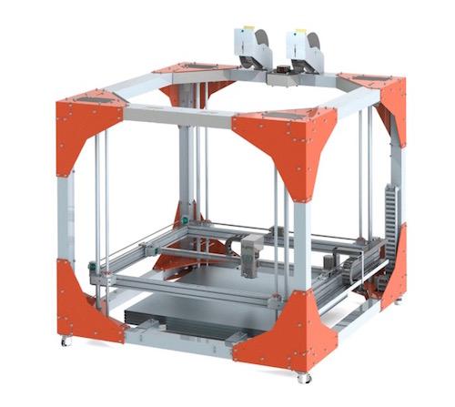 BigRep ONE 3d drucker1 - BigRep ONE 3D Printer - Großformat Drucker aus Berlin - Update: BigRep ONE.2 auf der Euromold