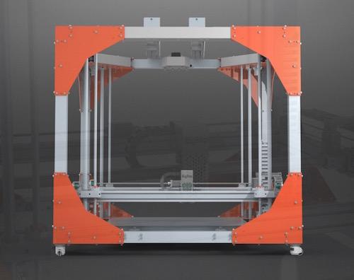 BigRep ONE 3d drucker2 - BigRep ONE 3D Printer - Großformat Drucker aus Berlin - Update: BigRep ONE.2 auf der Euromold