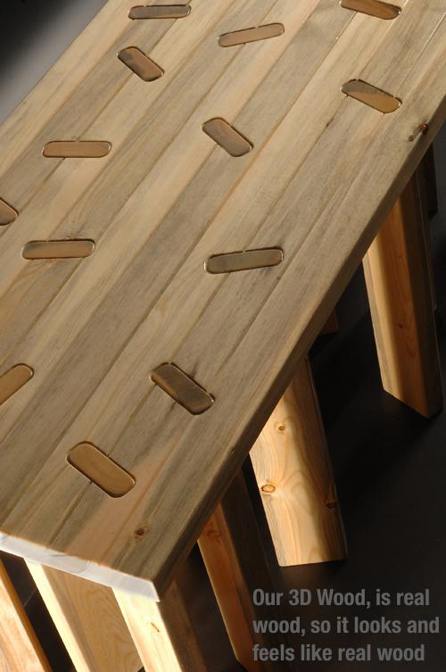 4 axyz startet indiegogo kampagne f r 3d holz drucker. Black Bedroom Furniture Sets. Home Design Ideas