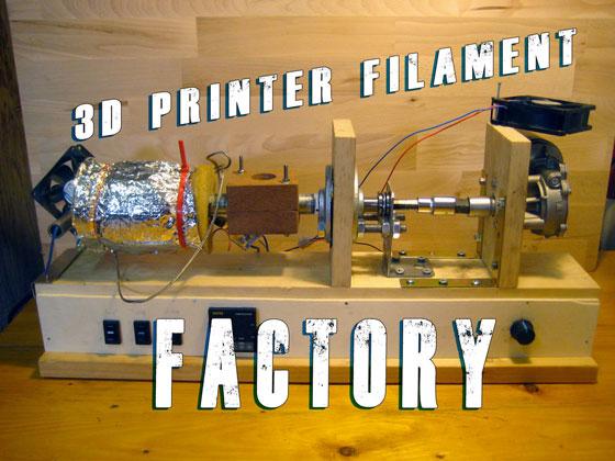 filament extruder erzeugt 1 kilogramm filament pro stunde. Black Bedroom Furniture Sets. Home Design Ideas