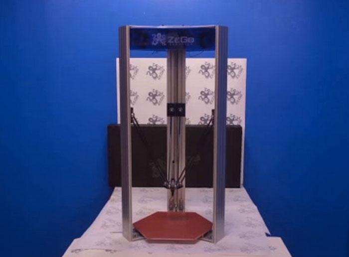zego multifunktionaler delta roboter mit 3d druck erweiterung bei indiegogo. Black Bedroom Furniture Sets. Home Design Ideas