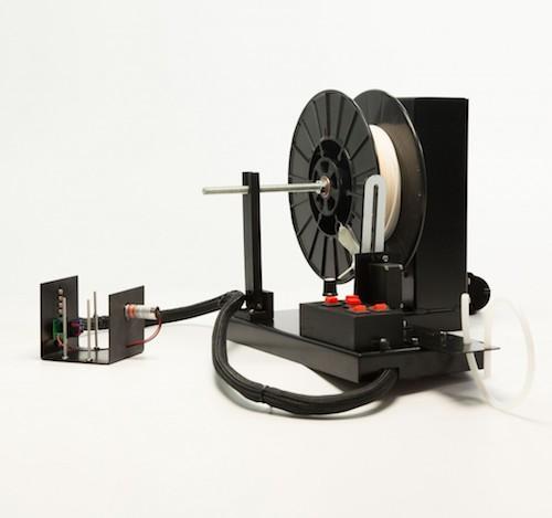 noztek abs und pla filament extruder f r 3d drucker update xcalibur. Black Bedroom Furniture Sets. Home Design Ideas