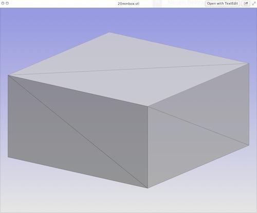 Matthias Melcher bringt QuickLook von STL-Datein für Mac OSX
