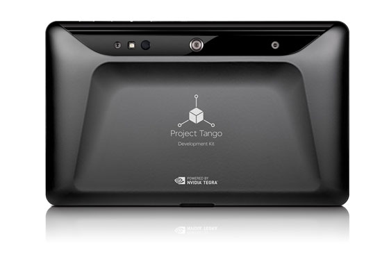 tango 03 - Googles Projekt Tango ist ein 3D-Scanning Phone für Makers - Update: Lenovo bringt erstes Gerät mit Tango
