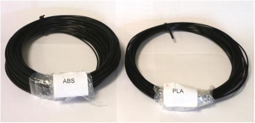 ABS und PLA Filament