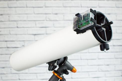 Pikon teleskop aus dem 3d drucker mit fotofunktion update: pikon