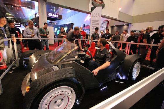 Strati SEMA 3 - Strati, das 3D-gedruckte Auto in Rekordzeit produziert - Update: zweiter Strati noch schneller zusammen gebaut
