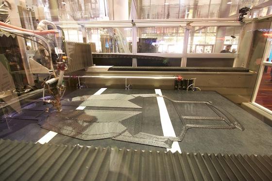 Strati SEMA 4 - Strati, das 3D-gedruckte Auto in Rekordzeit produziert - Update: zweiter Strati noch schneller zusammen gebaut