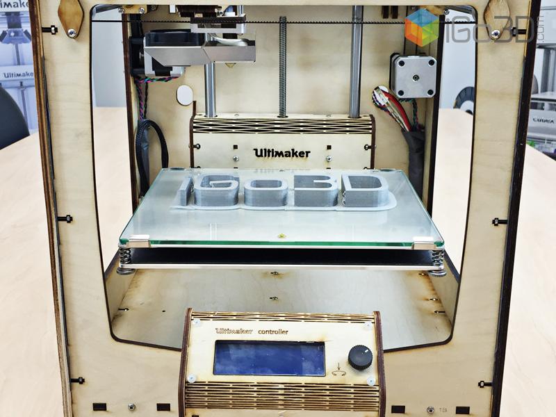 """Ultimaker Original Plus iGo3D Heated bed 2 - Ultimaker """"Original"""" & """"Orginal+"""" - Update: Original+ im Test bei iGo3D"""