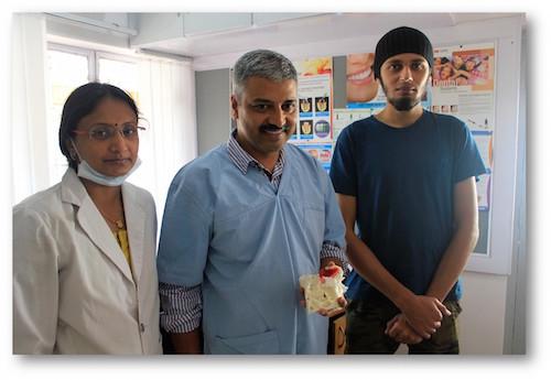 Dr. Poornima Dandagi, Dr. Satyajit Dandagi, Nachiketha Somesware from Osteo3d