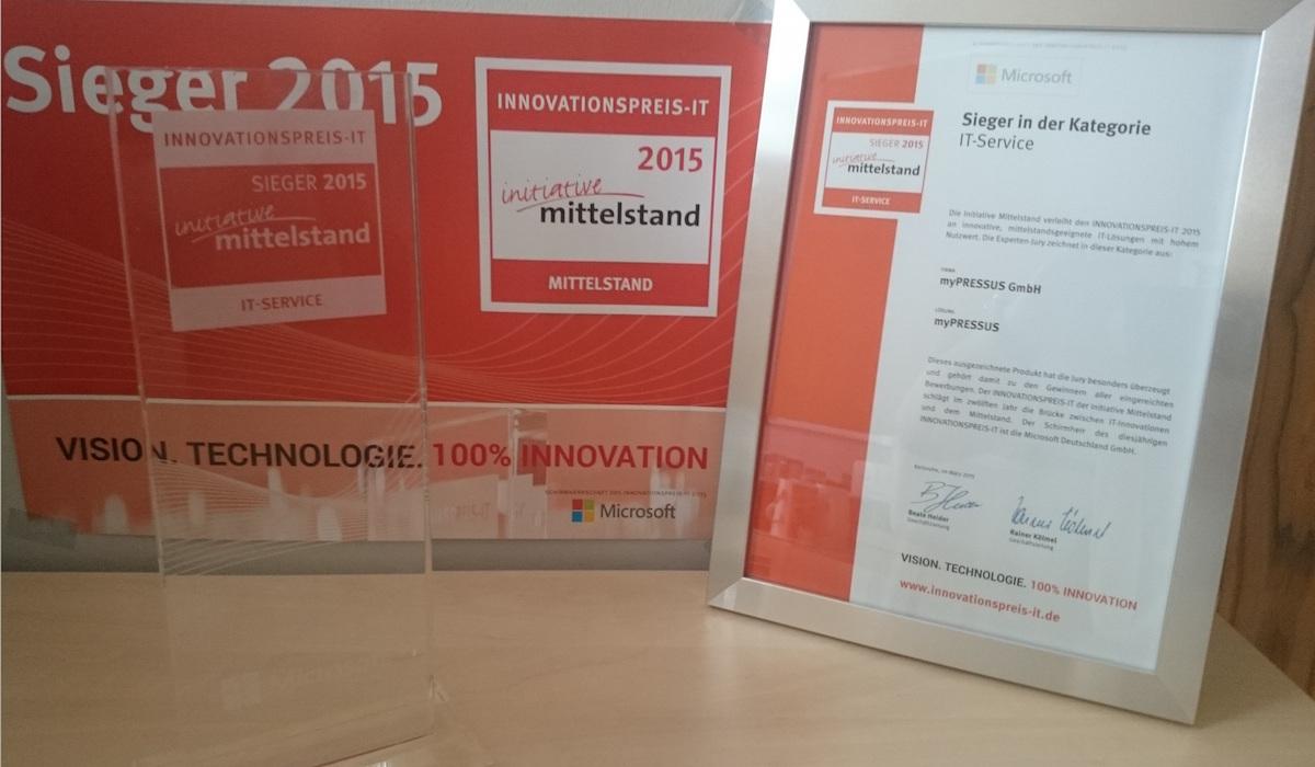 innovationspreis myPRESSUS