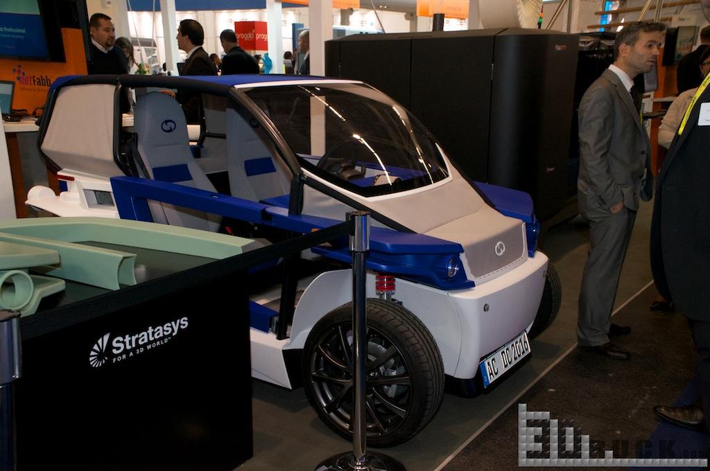 Euromold 3Druck 19 - 3D-gedruckter StreetScooter wird auf der EuroMold 2014 vorgestellt - Update: Photos & News