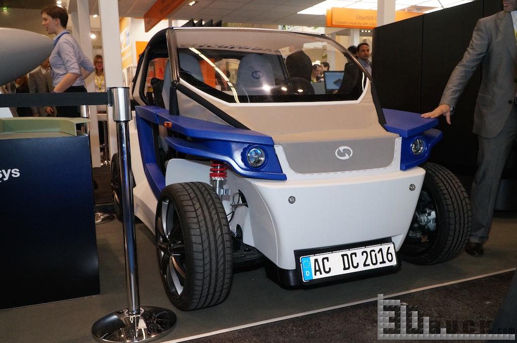 Euromold 3Druck 21 - 3D-gedruckter StreetScooter wird auf der EuroMold 2014 vorgestellt - Update: Photos & News