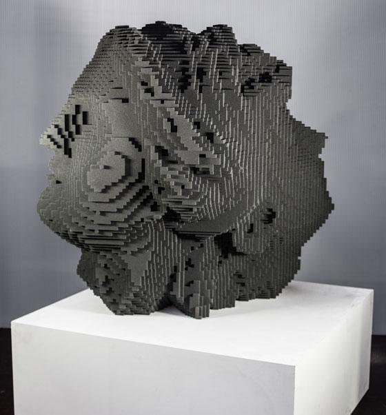 Virtuelle Kunst nimmt Gestalt an von Janus, Miguel Chevalier