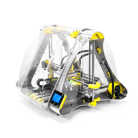Zmorph 2.0.S YELLOW - ZMorph 2.0 S All-in-One 3D-Drucker bei Euromold vorgestellt