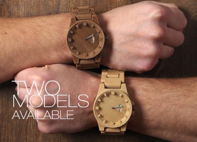 Armbanduhr Aus Holz Ukraine ~   stellt eine 3D gedruckte Armbanduhr aus einem Holz PLA Komposit vor