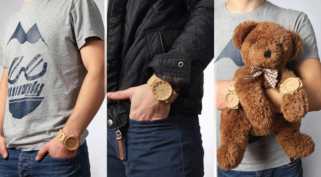 jelwek watch 3d druck armbanduhr3 - Jelwek Watch: 3D-gedruckte Armbanduhr aus Holz