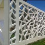 3d printed wall fence 150x150 - Möbel und Häuser aus dem 3D Drucker von WinSun