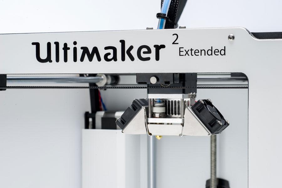Ultimaker 2 Extended Detail 1 - 2 Neue Ultimaker 3D-Drucker bei der CES 2015 vorgestellt - Update: Lieferung in 3-4 Wochen