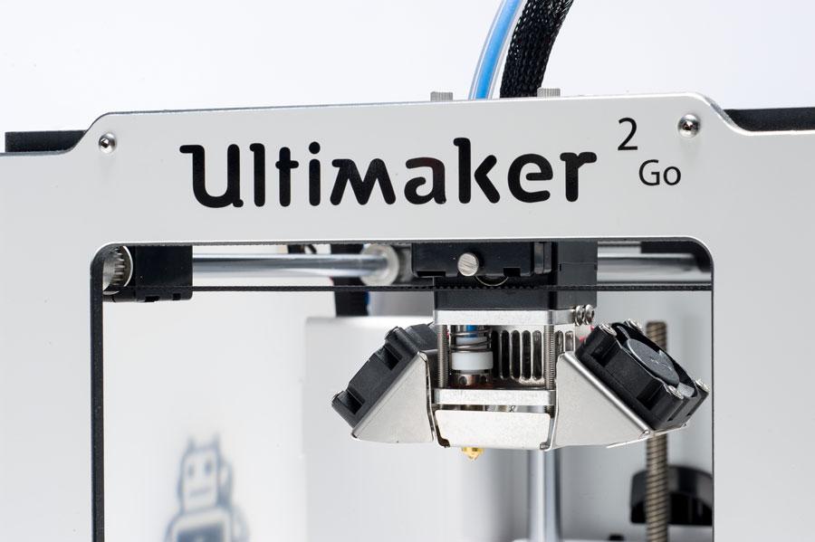Ultimaker 2 GO Detail 1 - 2 Neue Ultimaker 3D-Drucker bei der CES 2015 vorgestellt - Update: Lieferung in 3-4 Wochen