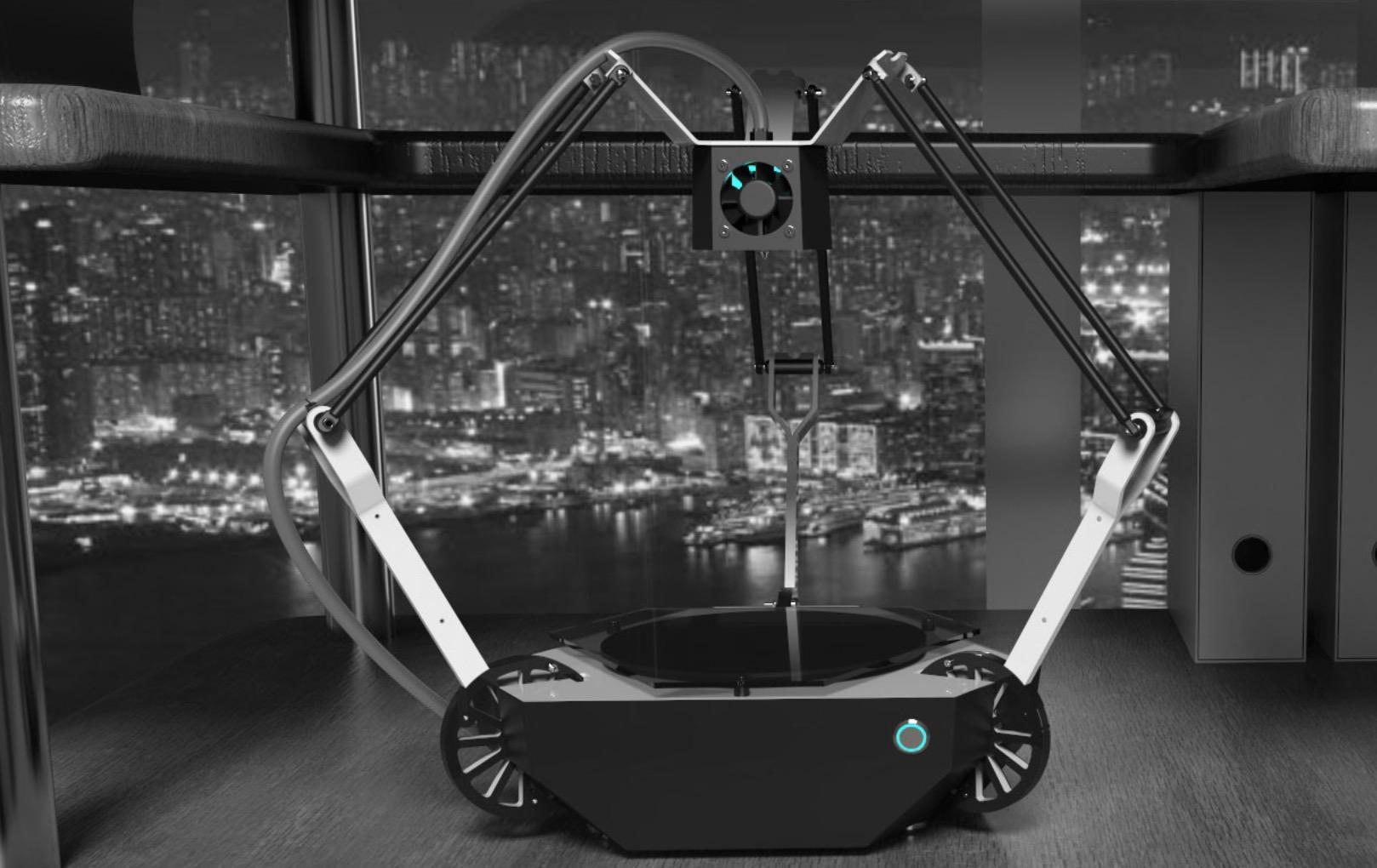 krak3n 3d der delta 3d drucker mit ellenbogen. Black Bedroom Furniture Sets. Home Design Ideas