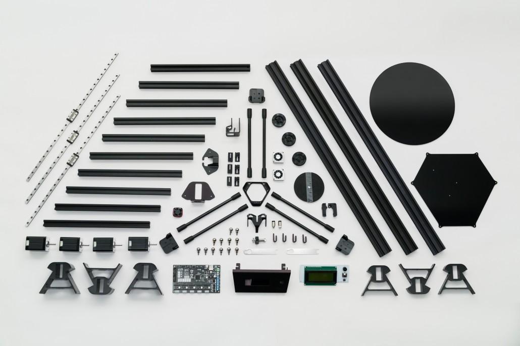 atom 2 0 fff delta 3d drucker wird ber ulule finanziert. Black Bedroom Furniture Sets. Home Design Ideas