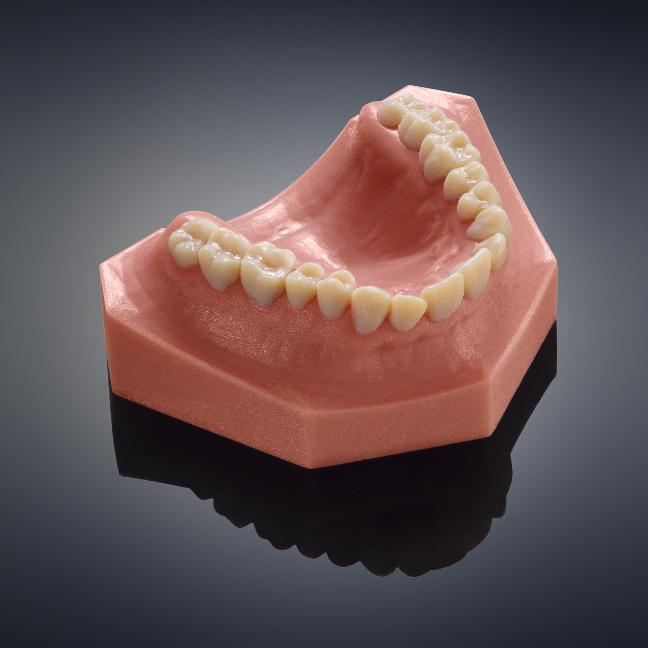 Objet260 dental2 3d printing 3d druck - Stratasys stellt Objet260 Dental Selection für Digitale Zahnmedizin vor
