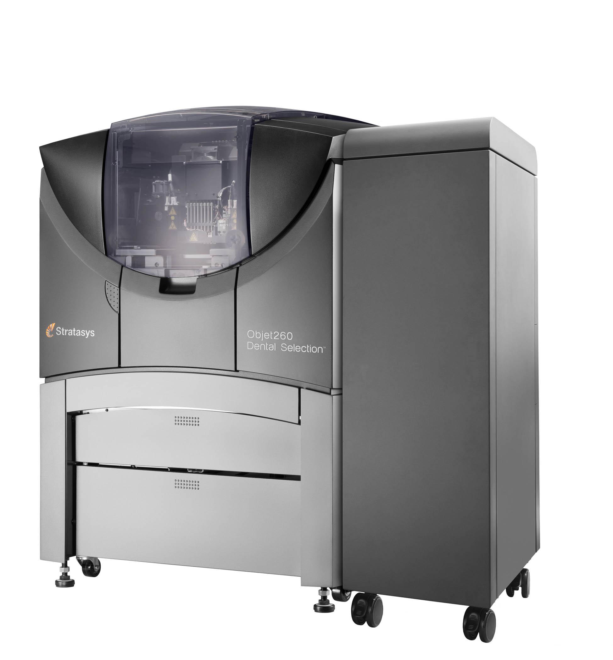 Objet260 dental 3d printing 3d druck - Stratasys stellt Objet260 Dental Selection für Digitale Zahnmedizin vor