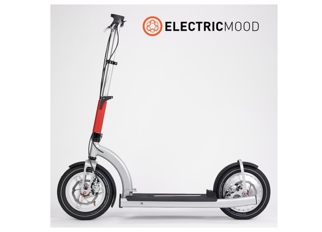 electricmood elektro scooter auf indiegogo. Black Bedroom Furniture Sets. Home Design Ideas