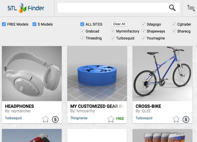 STL Finder: Neue Suchmaschine für 3D-Modelle - 3Druck.com