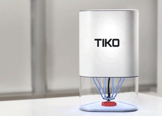 tiko neuer delta 3d drucker auf kickstarter f r unter 170 update betrieb vorerst. Black Bedroom Furniture Sets. Home Design Ideas