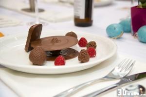 Leckere Erdbeeren aus Schokolade vom Focus by flow