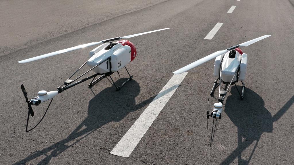 Bau Eines Unbemannten Flugsystems Mittels Am Technologie